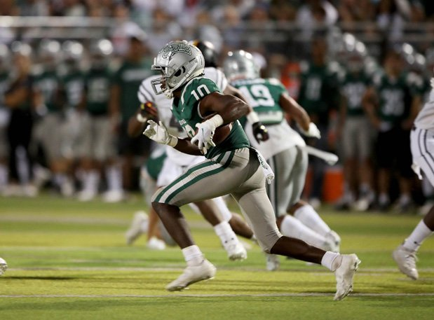 Arizona-bound Zeke Berry returned the opening kickoff 88 yards for a touchdown leading to a 24-0 first-half lead for De La Salle.