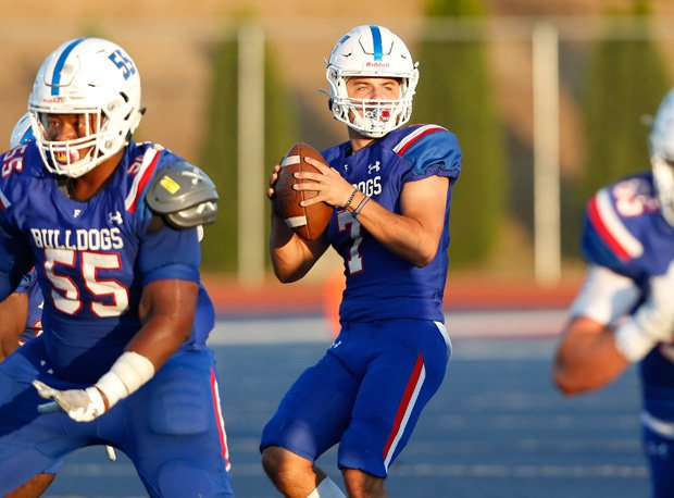 Tyle Tremain was 13-of-24 for 146 yards and a touchdown in the first half for Folsom.