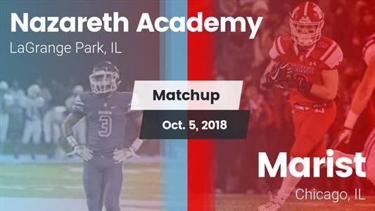 Football Game Recap: Marist vs. Nazareth Academy