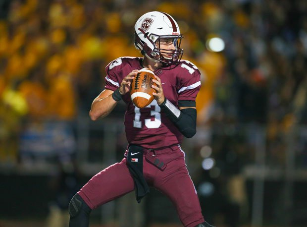 Elite 11 quarterback Tommy DeVito, Don Bosco Prep