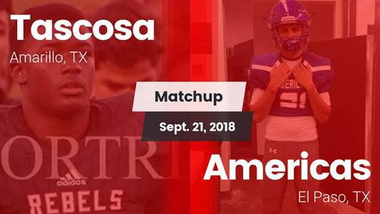 Football Game Recap: Tascosa vs. Americas