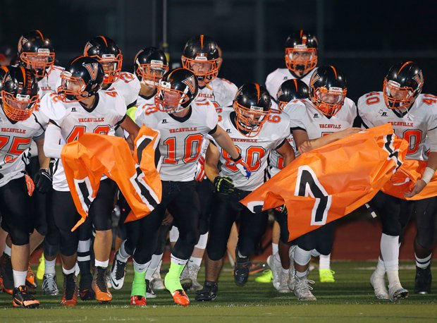 Vacaville has moved up to No. 6 in NorCal Division I.