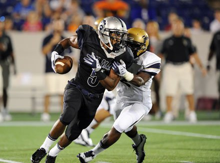 Good Counsel eventually chased down Cyrus Jones and Gilman's high-powered offense.