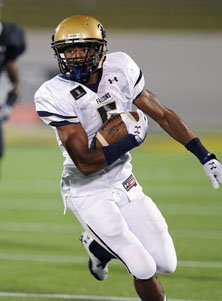 Good Counsel junior receiver Kendall Fuller helped lead his team's attack.