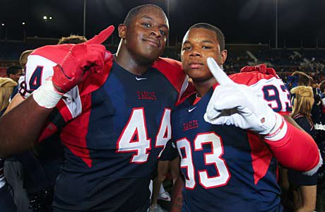 Allen beat the nation's No. 1 team in DeSoto, and that equals a move to the top of the Southwest.
