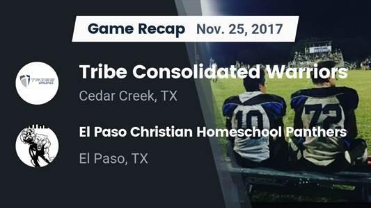 Football Game Recap: Bastrop Tribe Consolidated vs. NYOS Charter