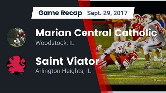 Football Game Preview: Marist vs. Marian Central Catholic