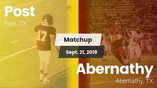 Football Game Recap: Abernathy vs. Post
