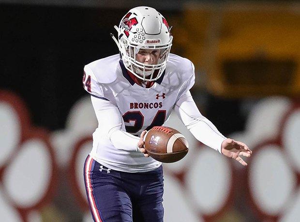McKinney Boyd's Connor Dailey was All-Texas last year.