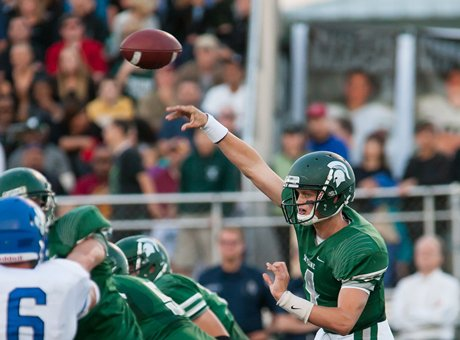 Max Browne is done with high school after a wildly successful career at Skyline (Sammamish, Wash.). Now he's headed for spring practice at USC, where he may get a shot at the starting job.