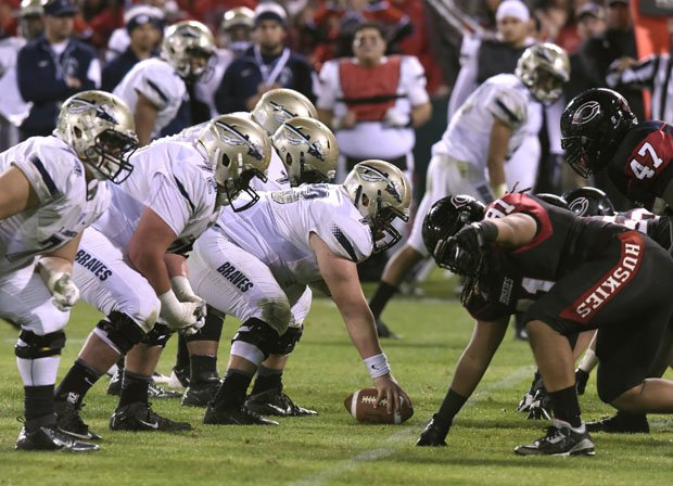 St. John Bosco (white) takes on Centennial in 2015.