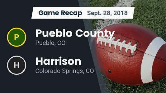 Football Game Preview: Harrison vs. Palmer Ridge