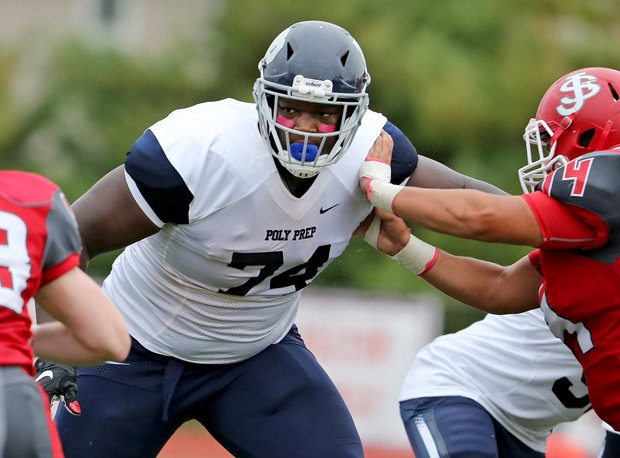 Isaiah Wilson of Poly Prep Country Day signed with Georgia.