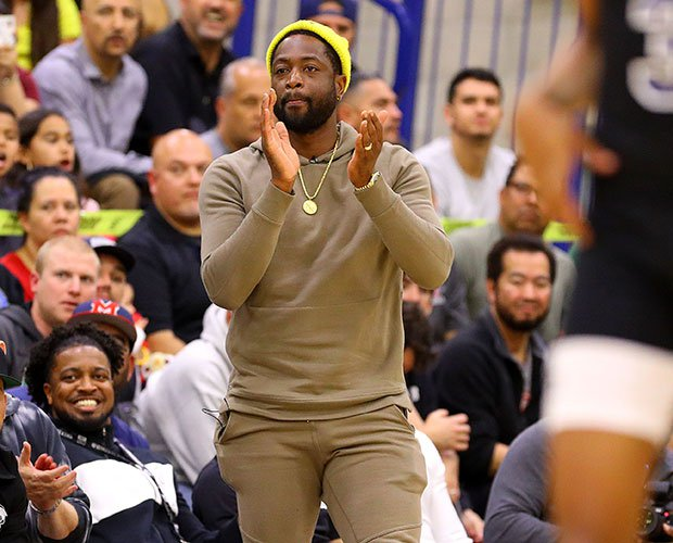 Dwyane Wade liked what he saw from son Zaire and his Sierra Canyon teammates.