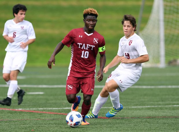 Sammed Bawa in action last October against The Gunnery.