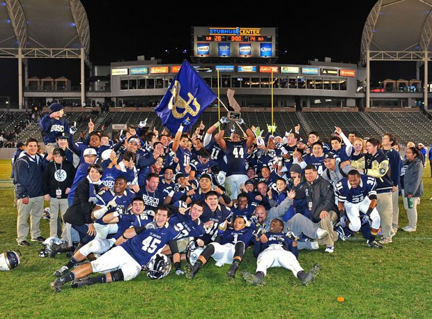 The 2013 CIF State Open Division champion St. John Bosco Braves.