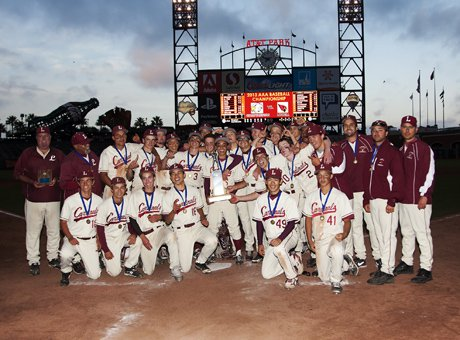 With 10 seniors, Lowell celebrated its 18th SFS title and seventh since 2000. Those seven were all accomplished at AT&T Park.