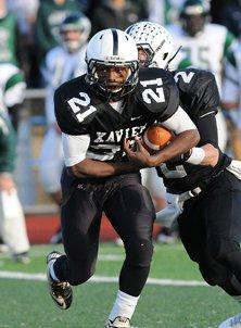 Running back D'Angelo Berry, Xavier