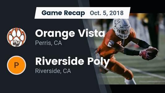 Orange Vista High School (Perris, CA) Football   MaxPreps
