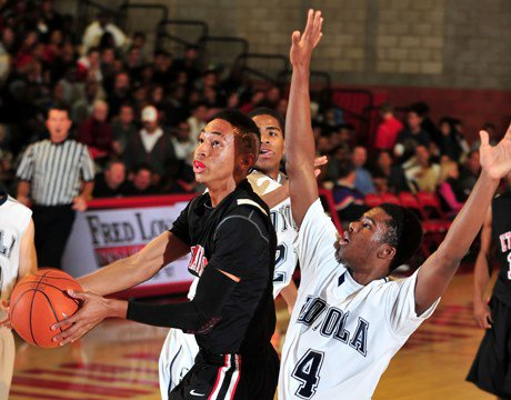 Jordan McLaughlin and Etiwanda pulled off what many would call an upset in the CIF Southern Section I-AA semifinals, knocking off Long Beach Poly in overtime. Now the Eagles get a shot at Mater Dei, headlining this weekend's array of title games.