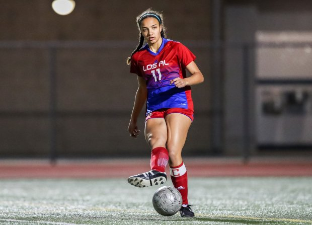 Jayden Newkirk led Los Alamitos to 28 wins and a spot in the CIF Southern Section Division 1 title game this winter.