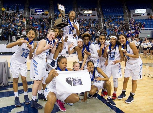 Centennial won the Nevada 4a title beating Liberty 74-65.