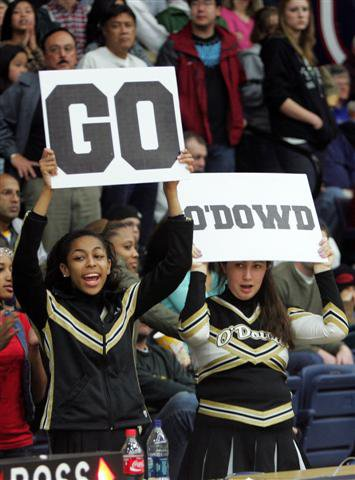 O'Dowd's boys and girls basketball teams are easy to root for.