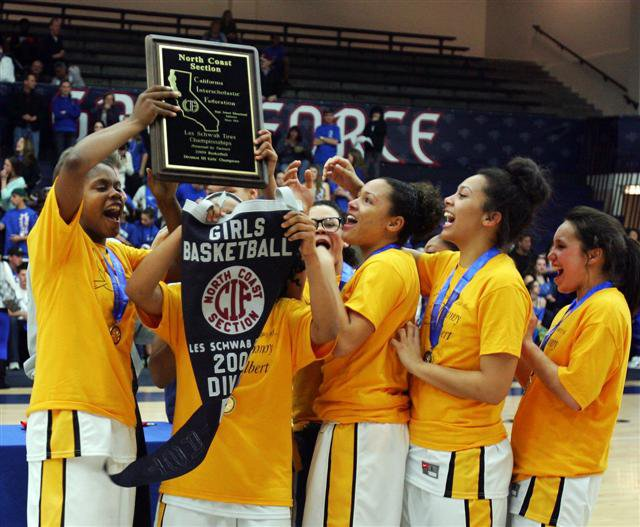 O'Dowd's girls hope to repeat 2009 NCS championship-day celebration.