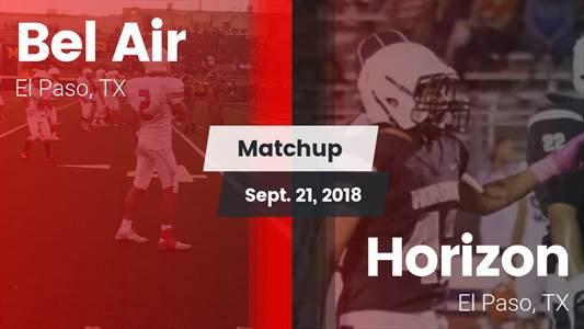 Football Game Recap: Horizon vs. Bel Air