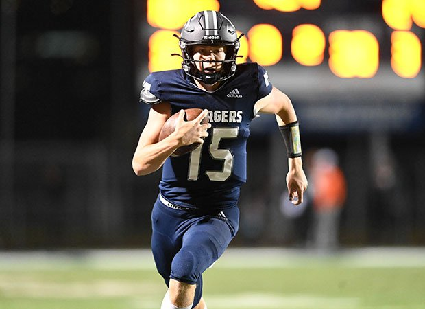 Senior quarterback Devin Brown finished with two touchdowns passes for Corner Canyon.