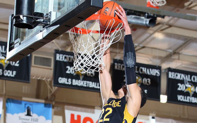Ben Simmons posted a huge double-double to help Montverde Academy advance in the City of Palms Classic.