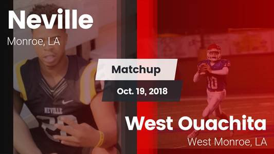 Football Game Recap: Neville vs. West Ouachita