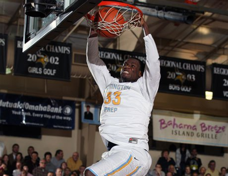 Moses Kingsley and No. 1 Huntington Prep will be involved in a pair of big weekend games.