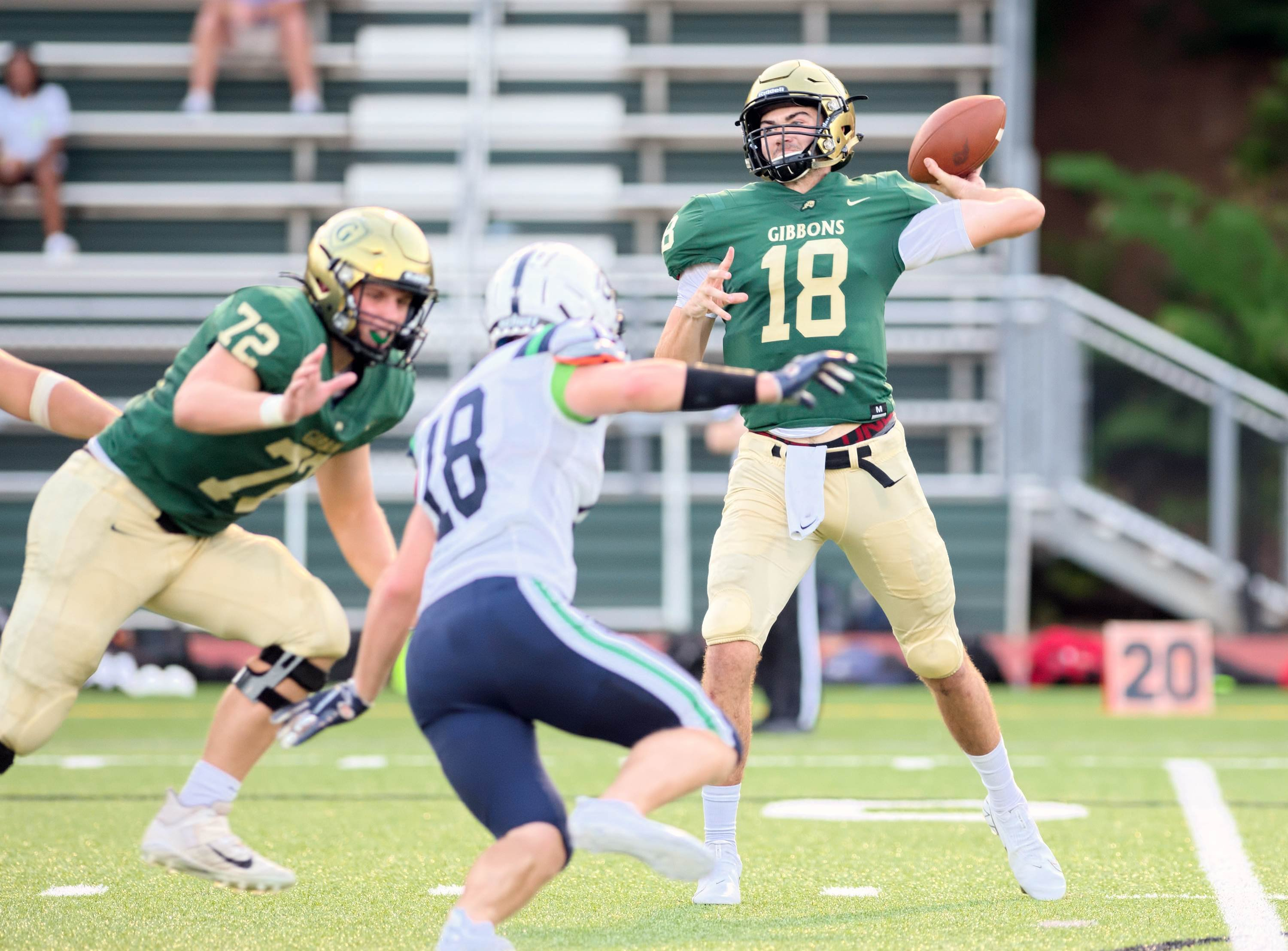 Cardinal Gibbons faces Richmond this week in a big game.