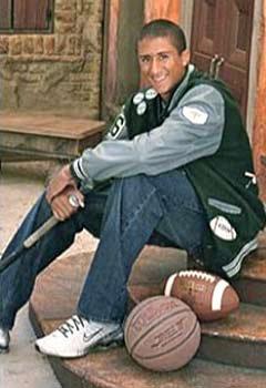 Young Kaepernick was a three-sport star.