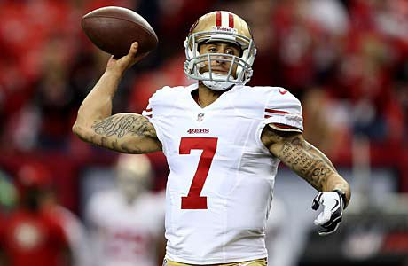 Colin Kaepernick, the emerging star quarterback for the Super Bowl-bound San Francisco 49ers, was barely on the radar coming out of Pitman High School.