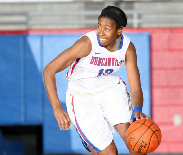 Ariel Atkins was thrilled to be selected to the McDonald's All American team, but shocked to learn she earned the Morgan Wootten award for being the top national player overall.