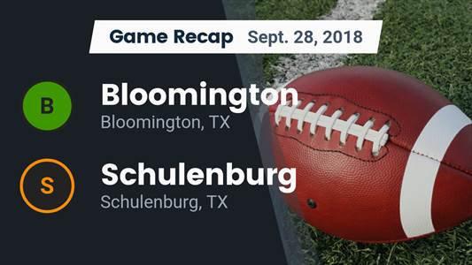 Football Game Preview: Van Vleck vs. Schulenburg