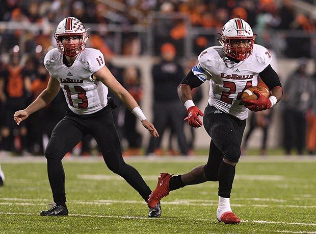 Zac Branam, Quarterback and Cam Porter, Running Back