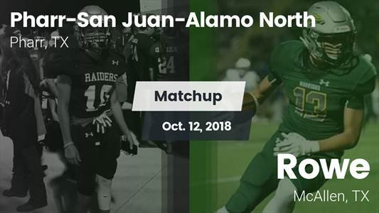 Football Game Recap: Pharr-San Juan-Alamo North vs. Rowe