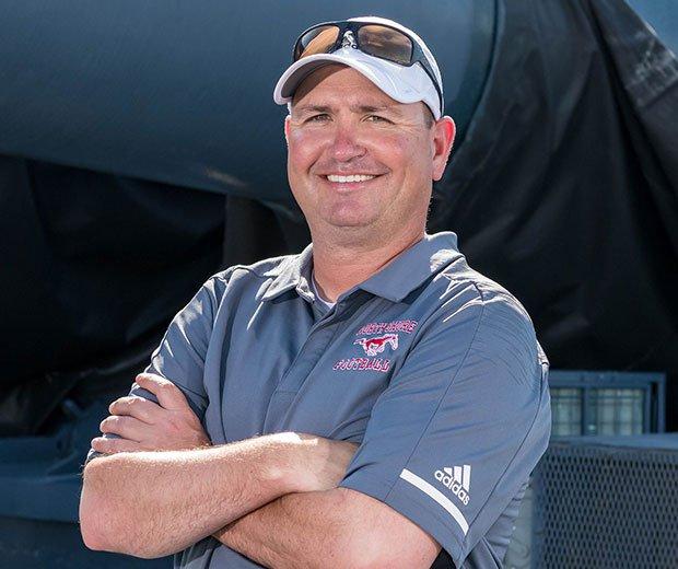 Head coach Jon Kay