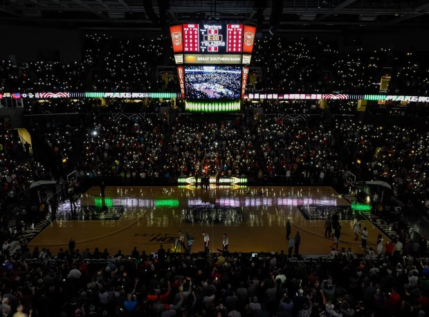 Last year's final at the Bass Pro Shops Tournament of Champions was played in front of over 10,000 fans at JQH Arena.