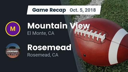 Football Game Recap: Rosemead vs. Gabrielino