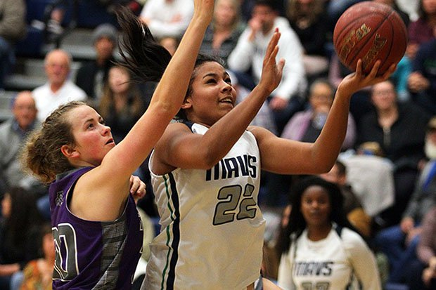 Idaho POY Nana Ojukwu scored 23 points and grabbed 13 rebounds in Mountain View's state championship game victory.