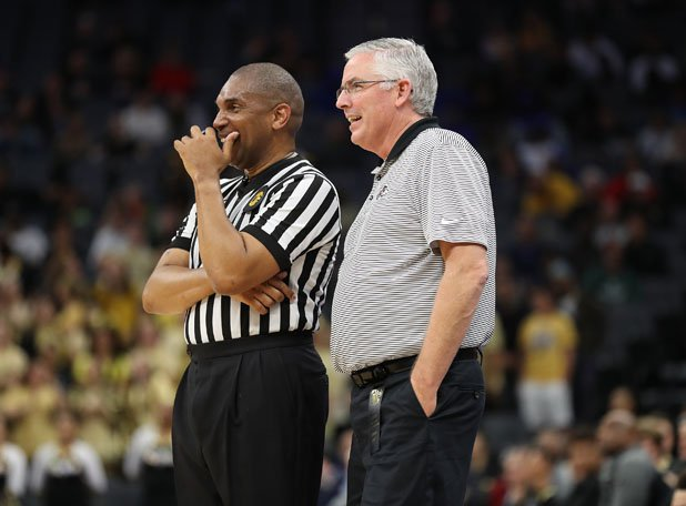 At the end of the day — and during the games — referees are just people too.