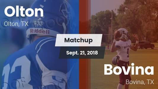Football Game Recap: Bovina vs. Olton