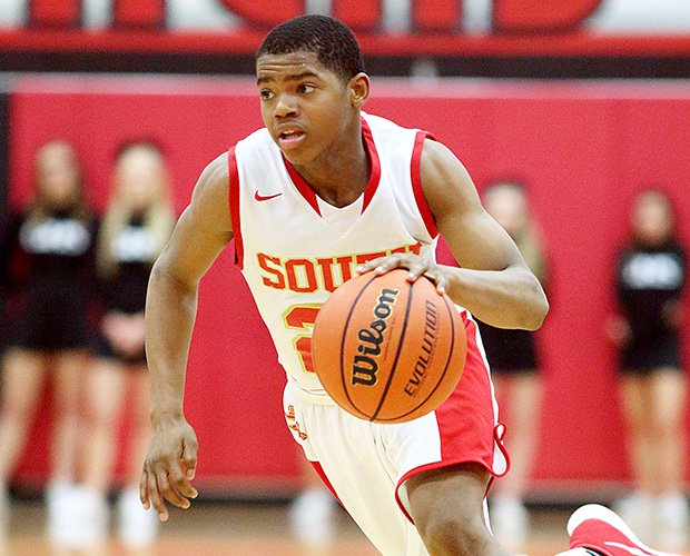 Guard Bryce Cook shown playing for South Grand Prairie.