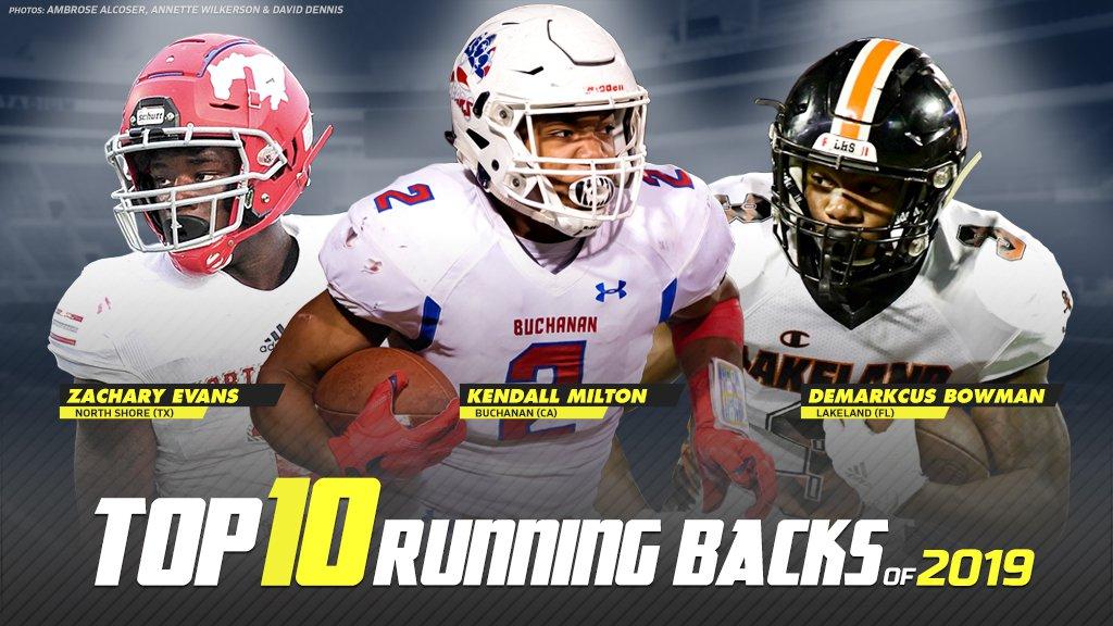 Top 10 Running Backs In High School Football Maxpreps