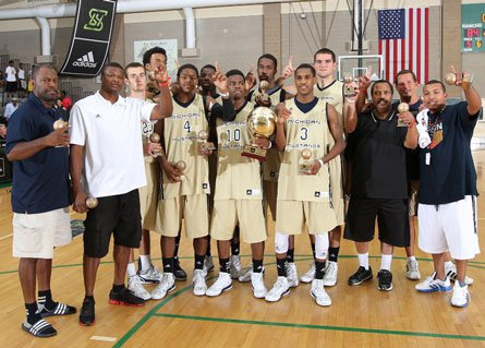 The Michigan Mustangs avenged a loss to New York-based New Heights two weeks ago to capture the adidas Super 64 title.