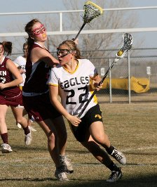 Maggie Mawhinney (22) leads the state with 71 goals.
